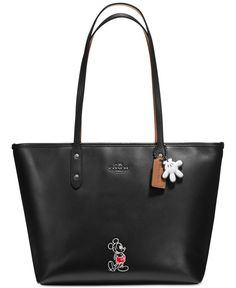 Coach Mickey City Tote in Calf Leather #FairfieldGrantsWishes