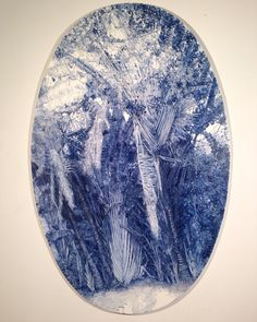 Blue No3. Oil / gesso board. 130 X 84cm #renatafernandez #landscape #contemporarypainting #venezuelanartist