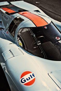 Porsche 917 Gulf II published in RAMP; Photo by Steffen Jahn