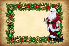 Free Image on Pixabay - Christmas Card, Santa Claus, Paper Christmas Shopping, Christmas Time, Christmas Cards, Christmas Ornaments, Rock Painting Ideas Easy, Painting For Kids, Painting Templates, Painted Rocks Kids, Color Crafts