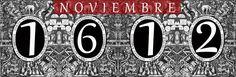 Un Diario del Siglo XVII: NOVIEMBRE de 1612