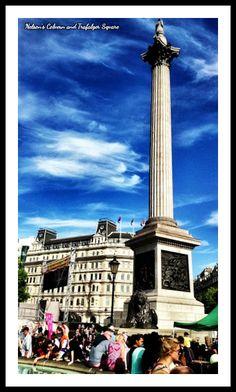 Nelson's Column and Trafalgar Square