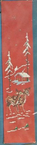 Vintage Cross Stitch Kit by OOE Made in Denmark Christmas Holiday 30137 NOS