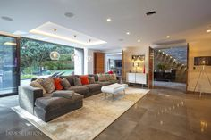 Nairn Road in Poole, United Kingdom. Luxury Real Estate for sale. Living Area, Living Spaces, Glass Balustrade, Kitchen Family Rooms, Property Prices, Wet Rooms, Double Bedroom, Open Plan Living, Design Awards