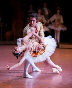 "Natalia Osipova and Ivan Vasiliev in ""Don Quixote"""