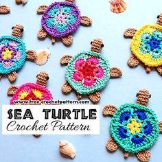 Turtles on the Beach [Free Crochet Pattern] – STYLESIDEA