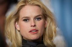 https://flic.kr/p/a79mBX | Alice Eve | Alice Eve has one green eye and one blue eye
