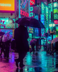 The magic Tokyo, neon lights of the streets at night captured by Liam Wong | FLOW ART STATION