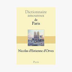 Dictionnaire amoureux de Paris -  - Find this product on Bon Marché website - Le Bon Marché Rive Gauche