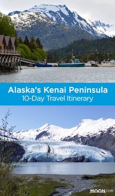Southcentral Alaska's Kenai Peninsula in 10 Days See Southcentral Alaska's Kenai Peninsula with this itinerary that includes highlights like Exit Glacier and the towns of Seward and Homer. Alaska Travel, Travel Usa, Alaska Trip, Alaska Camping, Alaska Highway, Highway Road, Alaska Fishing, Rv Camping, Canada Travel