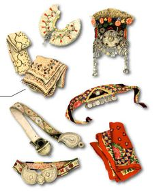 Macedonian folklore accessories