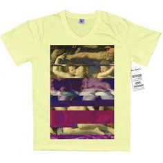 Venus, Cupid, Folly and Time by Agnolo Bronzino T shirt, Glitch Design