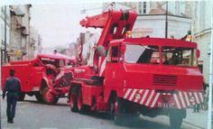 Oldtime Tow Wrecker truck on Duty