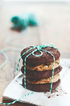 Delicious gluten-free, dairy-free and sugar-free Choc Chia Cookies - I Quit Sugar