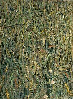 Vincent van Gogh. Ears of Wheat, 1890