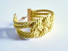Dans le Townhouse: Easy DIY Knotted Cord Bracelet