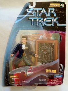 Trelane Star Trek The Original Series Warp Factor Series 4 Action Figure #PlaymatesToys