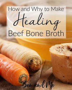How and Why to Make Healing Beef Bone Broth - Learn the health benefits of beef bone broth and how to make it in your slow cooker or Instant Pot. Includes recipe variations & instructions for storage.