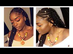Fulani Braids, Hair Styles, Beauty, Fashion, Templates, Hair, Beads, Hair Plait Styles, Moda