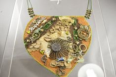 Steampunk statement necklace - art piece