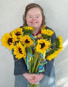 My Beautiful Sunshine Girl....  #Down Syndrome Awareness