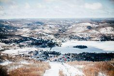 vue panoramique Domaine skiable Tremblant