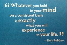 Mind shapes experiences