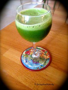 Tasting Good Naturally : Cliquez ici pour découvrir ce jus de légumes... vert à base de chou,  concombre, épinards... #vegan