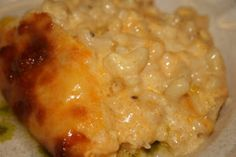 Deep South Dish: Southern Style Special Occasion Macaroni and Cheese  (I don't have my recipe written down, but if I did, it would look somewhat like this! MT)