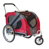 Check out our awesome new strollers! Finally, a stroller for big dogs!!