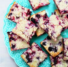 Blackberry Pie Bars <