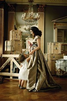 Gorgeous and elegant set and wardrobe | Princess Mary | Vogue Germany