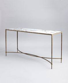 The Hanover - Marble Console Table