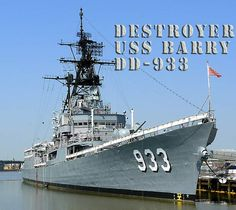 USS Barry, DDG-52, Destroyer, Arleigh Burke class. Commissioned Dec 12, 1992.