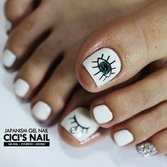 Cute Toe Nails, Pretty Nails, Korea Nail Art, For Your Nails Only, Nails 2016, Cat Nails, Nail Art Videos, Toe Nail Designs, Nails Inspiration