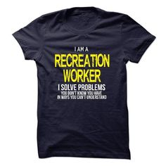 I am a Recreation Worker - #sweater outfits #white sweater. LOWEST PRICE => https://www.sunfrog.com/LifeStyle/I-am-a-Recreation-Worker-18317268-Guys.html?68278