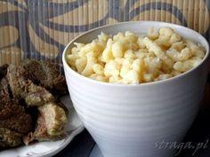 Domowe kluseczki do zup i sosów Polish Recipes, Polish Food, Breakfast Menu, Mashed Potatoes, Macaroni And Cheese, Cooking, Ethnic Recipes, Pierogi, Kitchen