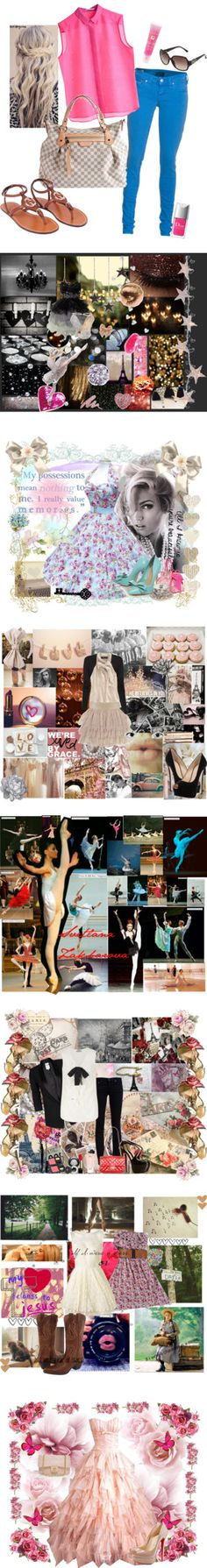 """Contest Winning Sets"" by ballerinagal16 ❤ liked on Polyvore"