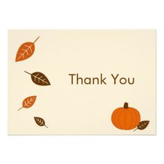 Shop Autumn Fall Pumpkin Thank You Note Cards created by little_prints. Thank You Note Cards, Custom Thank You Cards, Baby Shower Fall, Fall Baby, Fall Pumpkins, Baby Shower Invitations, Invitation Cards, Smudging, Paper Texture