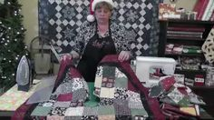 Missouri Star Quilt Company - YouTube - Christmas Tree Skirt