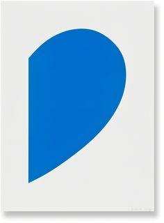 Blue Curve | Ellsworth Kelly, Blue Curve (2013)