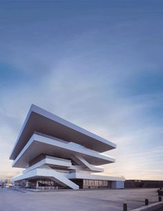 GIFs Turn Architecture Into Animated Art | ArchDaily America's Cup Building / David Chipperfield