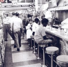 This photo shows African Americans being able to sit in area where they were once banned from. In the Civil Rights Act of 1964 the dining facilities covered are any restaurants, cafeteria, lunchroom, soda fountain, or any other location that sells food for consumption on premise is included in the act. Though establishments that do not sell food primarily for consumption on premise are not included in the Act. For example, a pizza delivery store or anywhere that offers food but has no…
