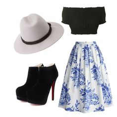 """""""Look #29"""" by nayfabris ❤ liked on Polyvore featuring moda, Chicwish, Topshop e Forever 21"""