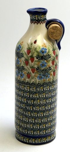 Polish Pottery - The Classic Carafe - 462   The Polish Pottery Outlet