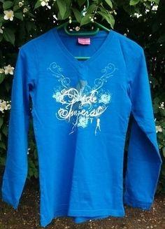 Kup mój przedmiot na #vintedpl http://www.vinted.pl/odziez-dziecieca/koszulki-topy-i-bluzki/13868533-niebieska-bluzka-z-dekoltem-w-serek