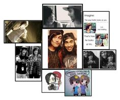 """""""Kellin and Vic"""" by bandsvansandsodacans ❤ liked on Polyvore"""