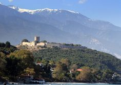If you are looking for the region of the Republic of Macedonia, see Povardarie. Central Macedonia, Macedonia from Mapcarta, the free map. Greece Trip, Greece Travel, Macedonia Greece, Republic Of Macedonia, Mount Olympus, Byzantine, Castles, Mythology, Medieval