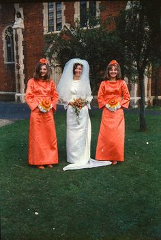 The Morgan Wedding-17 by eyedot on Flickr. Via Flickr: Looking at the clothes style on the bridesmaids Id say these were from the late 1960s