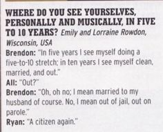 Yeah, Ryan understands...
